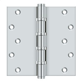 "6"" X 6"" Square Hinges, Ball Bearings - Polished Chrome"