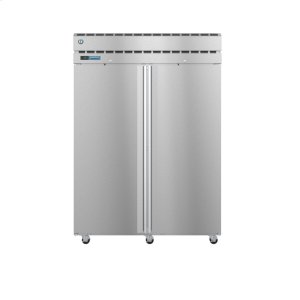 HoshizakiPT2A-FS-FS, Refrigerator, Two Section Pass Thru Upright, Full Stainless Doors with Lock