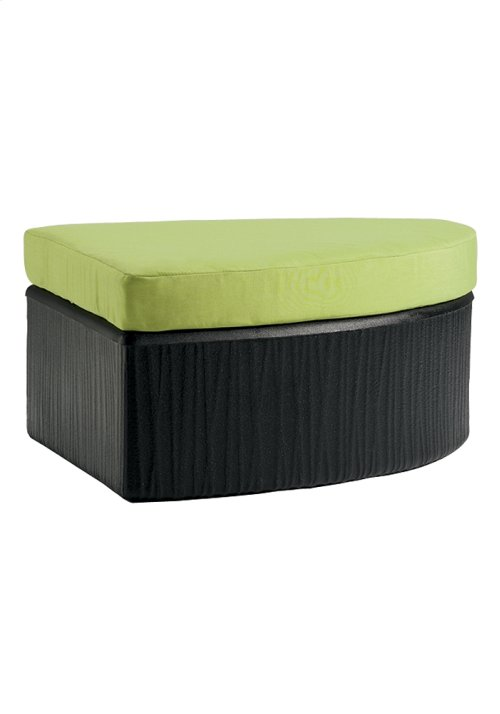 Mobilis Curved Ottoman