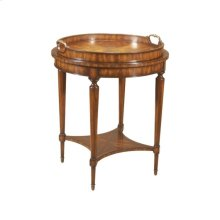 OCCASIONAL TABLE WITH REMOVABLE TRAY