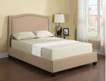 Headboard/footboard/rails/slats 6/6 Upholstered Bed Kit