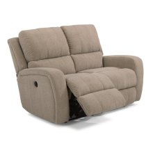 Hammond Fabric Power Reclining Loveseat