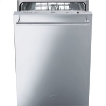 """60CM (Approx. 24"""")Pre-Finished Dishwasher with FingerPrint-Proof Stainless Steel, Maxi-Height Door and Professional Handle"""