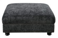 Cocktail Ottoman-bliss Charcoal