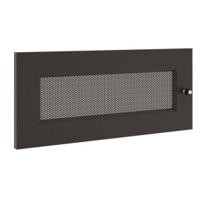 Salamander DesignsSynergy S10 Door, Black with Perforated Steel Insert