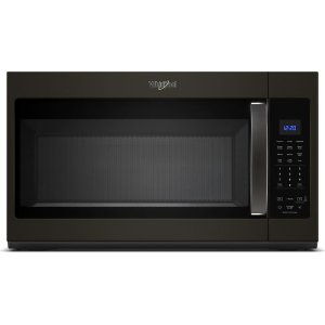 1.9 cu. ft. Capacity Steam Microwave with Sensor Cooking - FINGERPRINT RESISTANT BLACK STAINLESS