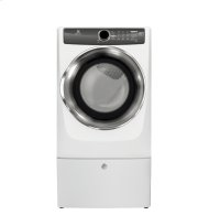 Out of the Box  Front Load Perfect Steam Gas Dryer with Instant Refresh and 8 cycles - 8.0 Cu. Ft.