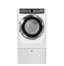 Scratch & Dent Front Load Perfect Steam Gas Dryer with Instant Refresh and 8 cycles - 8.0 Cu. Ft.