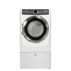 ElectroluxFront Load Perfect Steam Gas Dryer with Instant Refresh and 8 cycles - 8.0 Cu. Ft.