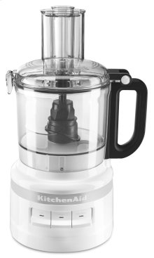 7 Cup Food Processor - White
