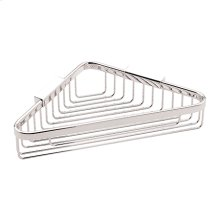 "Polished Chrome 6"" Deep Corner Basket"
