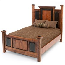Red River Tombstone Bed - 30440 - Queen Bed (complete)