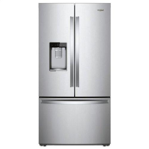 Whirlpool® 36-inch Wide Counter Depth French Door Refrigerator - 24 cu. ft. - Fingerprint Resistant Stainless Steel