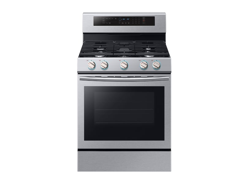 Samsung5.8 Cu. Ft. Freestanding Gas Range With True Convection In Stainless Steel