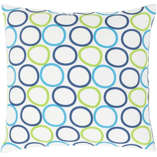 "Miranda MRA-002 18"" x 18"" Pillow Shell with Polyester Insert"