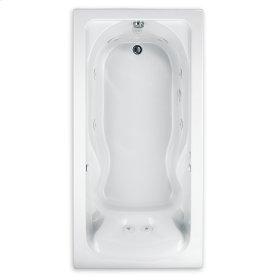 Cadet 60x32 inch EverClean Whirlpool - White