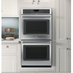 """Ge Cafe(tm)  27"""" Built-In Double Wall Oven With Convection"""