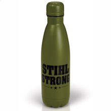Transport your hot or cold drinks with this heavy duty bottle.