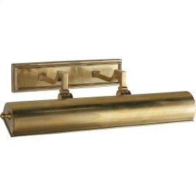 Visual Comfort AH2702NB Alexa Hampton Dean 80 watt 20 inch Natural Brass Plug-In Picture Light Wall Light