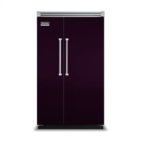 "Plum 48"" Side-by-Side Refrigerator/Freezer - VISB (Integrated Installation)"