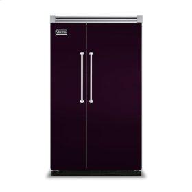 "Plum 48"" Side-by-Side Refrigerator/Freezer - VISB (Integrated Installation)"