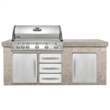 Built-In Mirage 730 with Infrared Burners - DISCONTINUED