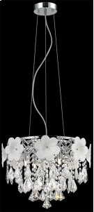 Pendant, Chrome/flower/crystals, Type Jcd/g9 40wx6 Product Image