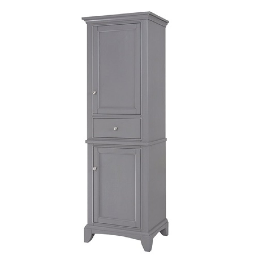 "Smithfield 21"" Linen Tower - Medium Gray"