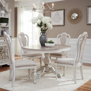 Liberty Furniture IndustriesOpt 5 Piece Pedestal Table Set