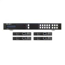 4x4 HDBaseT Matrix Kit - 70m (4K @60 up to 40m)