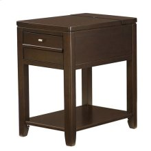 Chairsides Downtown Chairside Table - Espresso