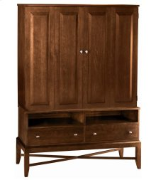 Talmadge Media Cabinet w/ Bi-fold Doors