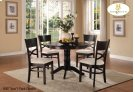 5pc/1 Pack Pedstal Dinette Set Product Image