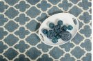 Linie Design Adelyn Turquoise Wool Rug Product Image
