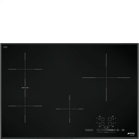 "78,2 CM (approx. 31""), Induction cooktop, black, ultra-low profile"