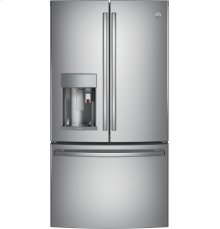 GE Profile™ Series ENERGY STAR® 22.2 Cu. Ft. Counter-Depth French-Door Refrigerator with Keurig® K-Cup® Brewing System [OPEN BOX]