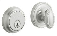 Satin Chrome Traditional Deadbolt