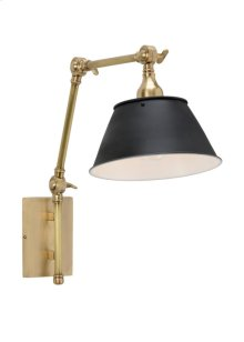 Franklin Arm Sconce - Brass