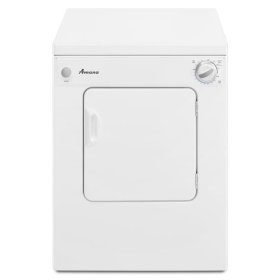 3.4 Cu. Ft. Compact Dryer with Automatic Dryness Control - white