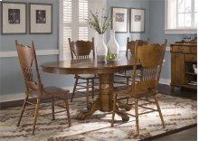 Optional 5 Piece Pedestal Table Set