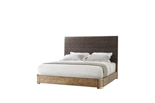 Seb King Bed (us King), King, Echo Oak