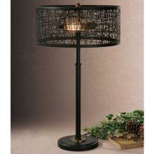 Alita Black Table Lamp