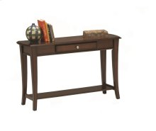 Broadway Cherry Finish Sofa Table