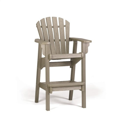 Adirondack Bar Height Tete-A-Tete Set