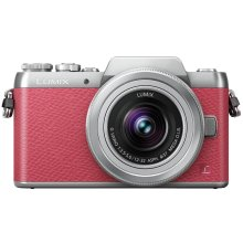 Panasonic LUMIX GF7 Full HD Mirrorless Interchangeable Lens Camera Kit with 12-32 mm Lens - Pink