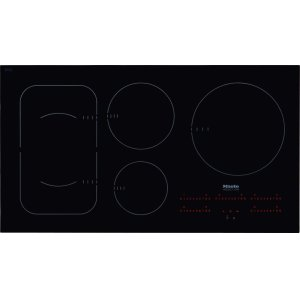 MieleKM 6375 - Induction Cooktop with PowerFlex cooking area for maximum versatility and performance.
