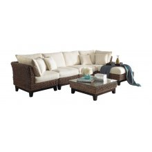 Sanibel 6 PC Sectional Set with cushions