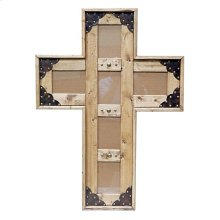 5x7 Cross Picture Frame
