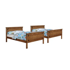 Coronado Rustic Honey Full-over-full Bunk Bed