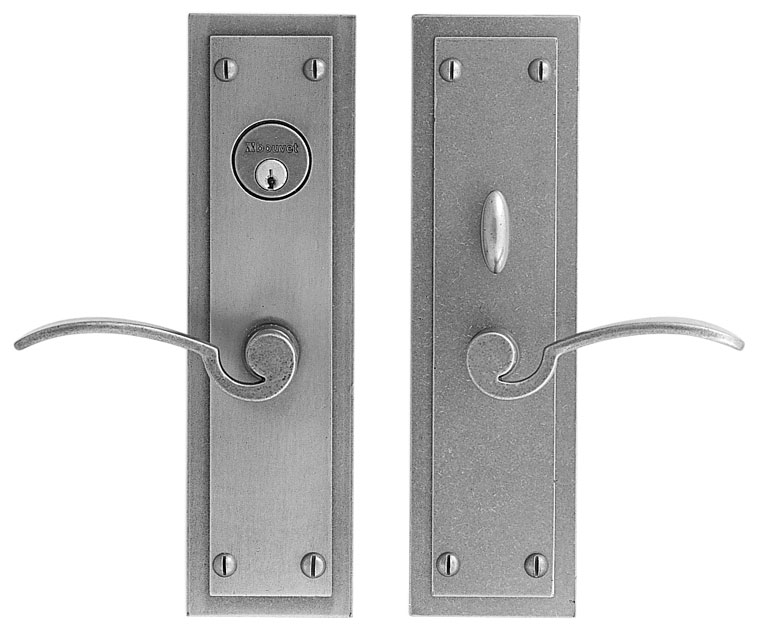 Lever set - Passage trim set without mechanism